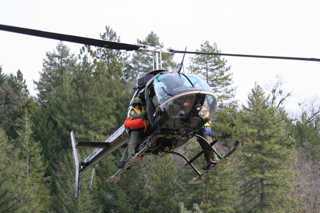 H-1 Rescue Helicopter – Butte County Sheriff Search and Rescue