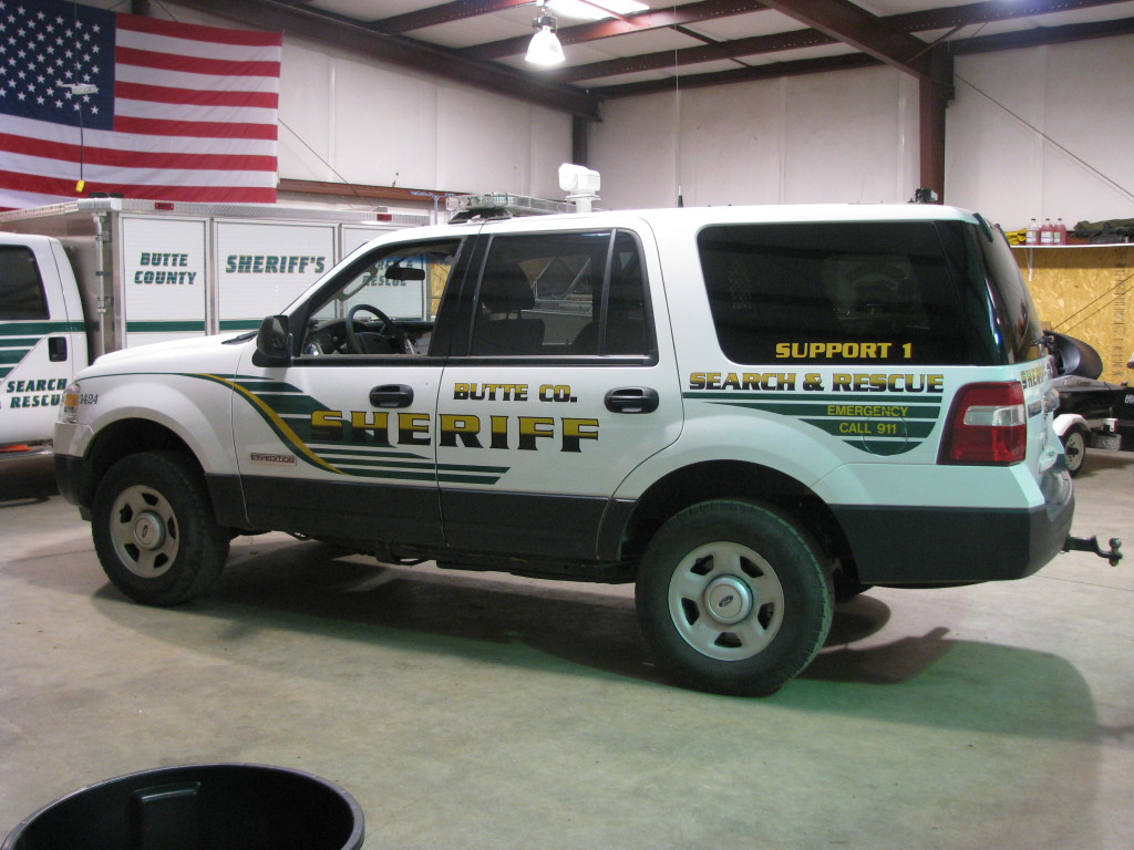Butte County Sheriff's Search and Rescue - Support 1