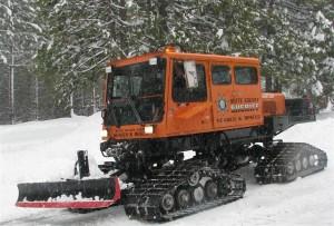 BCSAR Snowcat