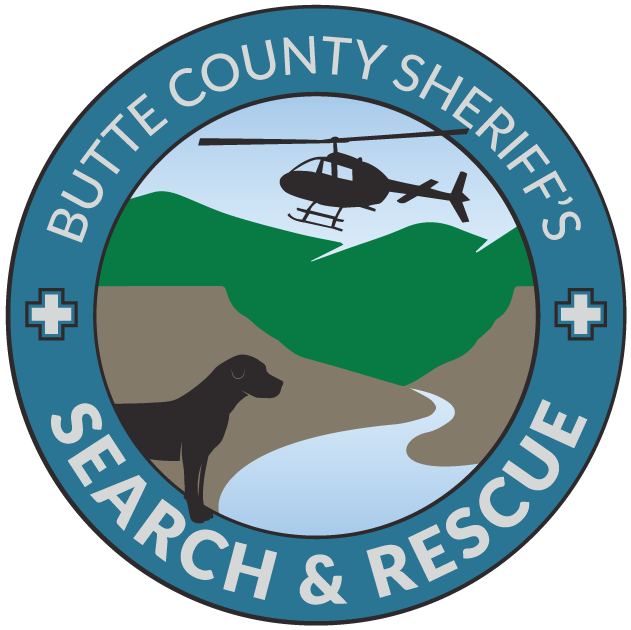 Butte County Sheriff's Search and Rescue Logo