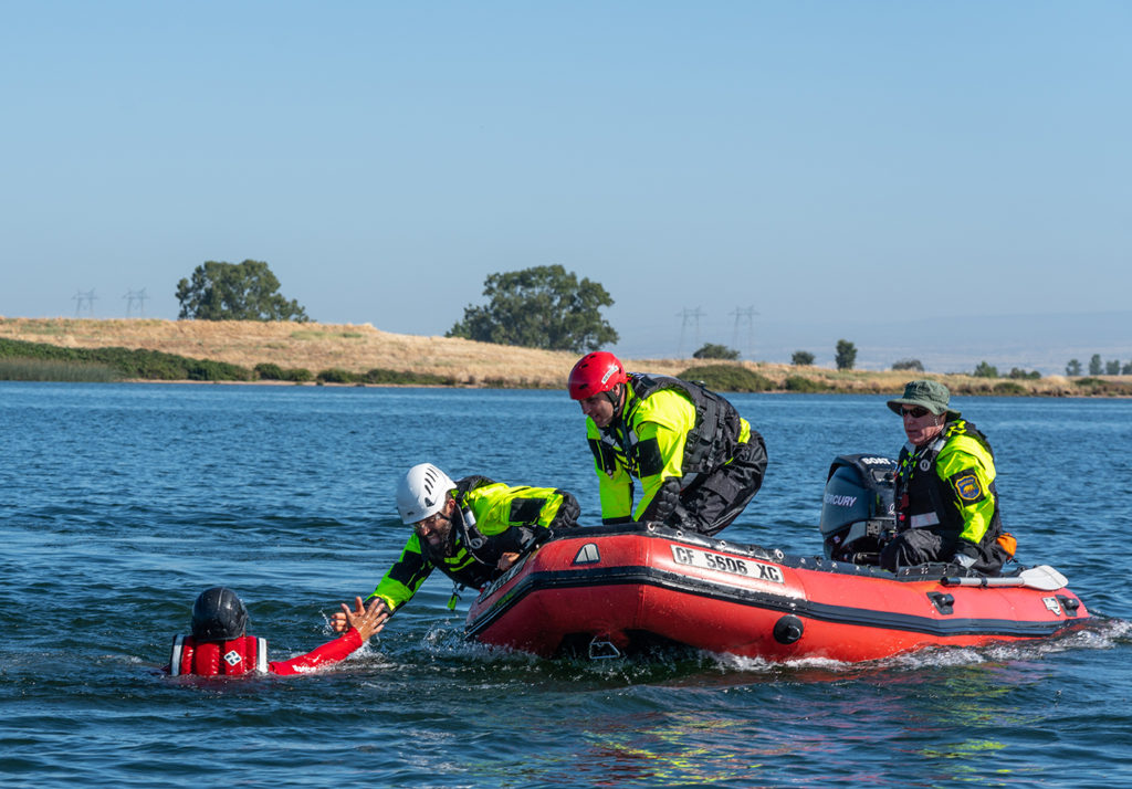 Butte County Sheriff's Search and Rescue Swiftwater Rescue Team