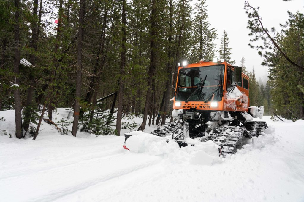 Butte County Sheriff's Search and Rescue - Snowcat