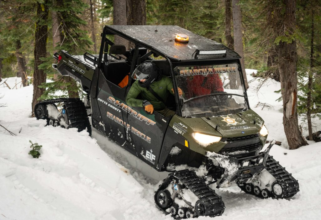 Butte County Sheriff's Search and Rescue - Polaris Rangers