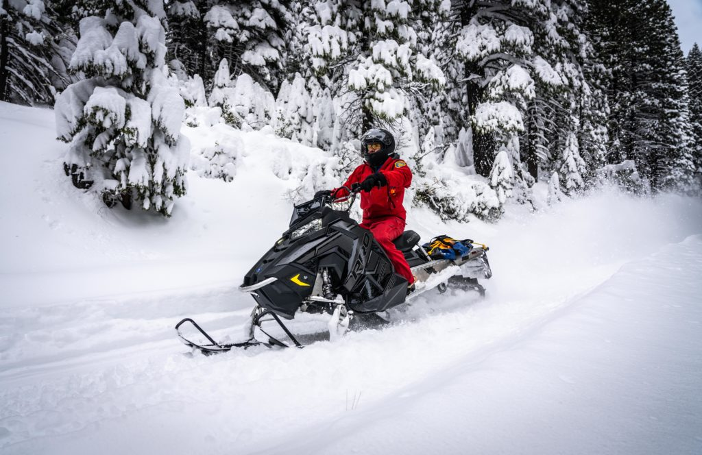 Butte County Sheriff's Search and Rescue - Snowmobiles